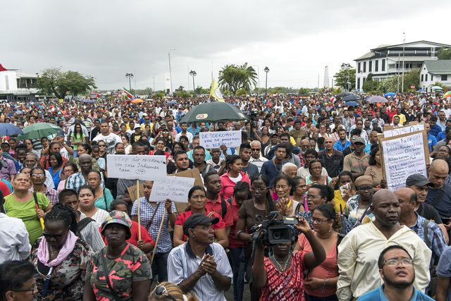 Arrestaties in Suriname bij nieuwe protesten tegen Bouterse