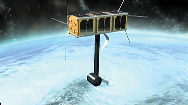 University of Alberta students watch their satellite blast into space