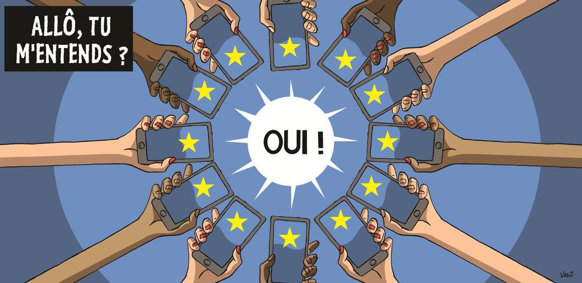 Fin des frais d'itinérance: près de 100€ d'économie par an en moyenne pour les consommateurs Français ! 😎 💶https://t.co/xxZlL6wssc #roaming