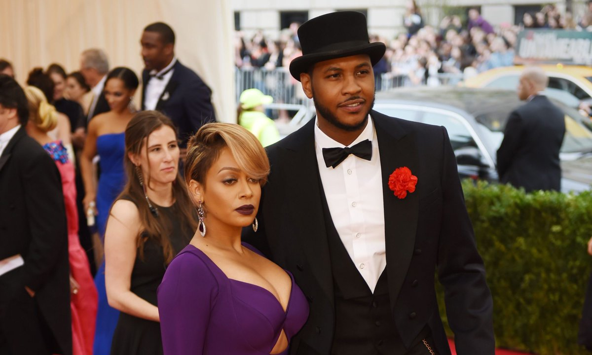 11 times Carmelo Anthony and La La were the most glamorous sports couple: (Getty)