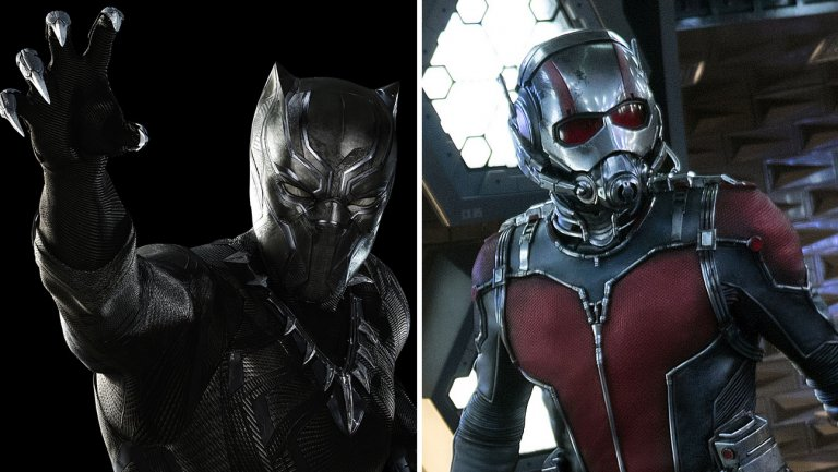 Marvel unveils an early look at BlackPanther, 'Ant-Man and the Wasp'