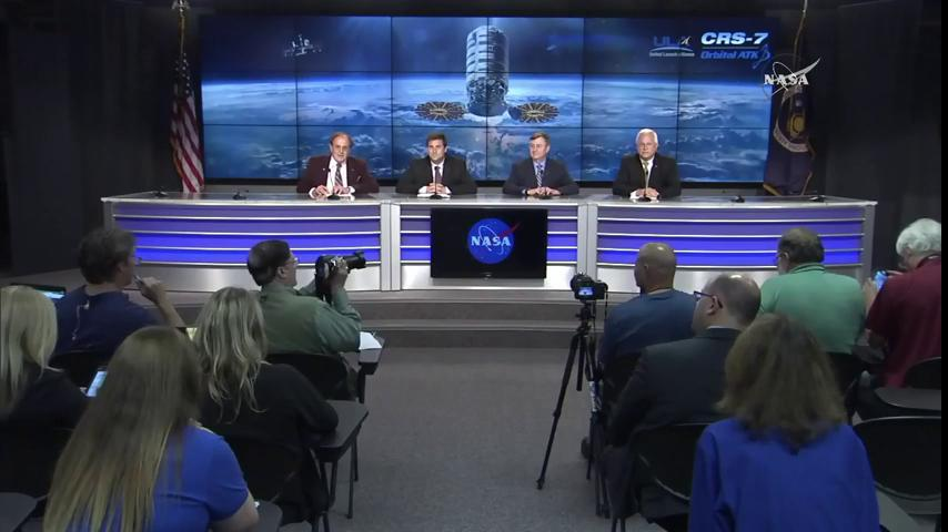 LIVE NOW: Hear from mission experts about today's successful cargo launch to @Space_Station: https://t.co/mzKW5uDsTi https://t.co/z7oGdH95zE