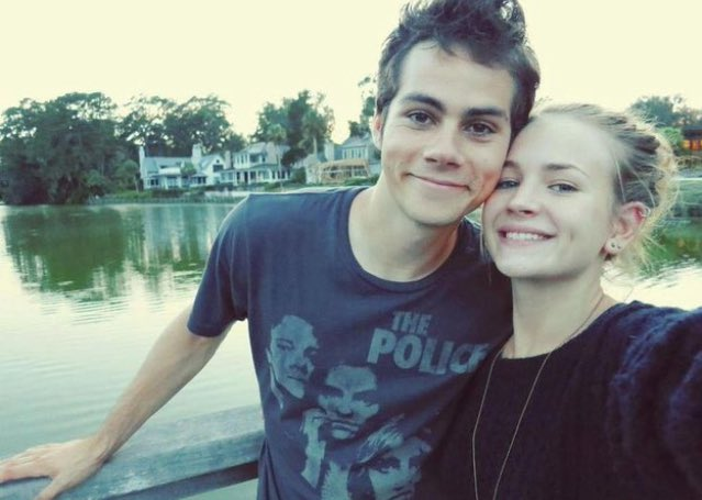 Happy birthday to dylan\s beautiful girlfriend britt robertson