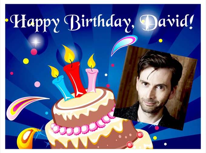 Happy Birthday, David Tennant!