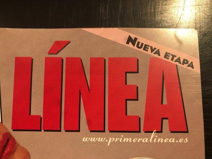 todos a comprar mañana la revista @primeralinea que inicia nueva etapa todavia mejor que antes 😍😃😄 https://t