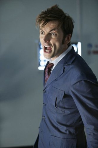 Allons-y! Happy birthday doctor I mean, David Tennant. Best moments, anyone?