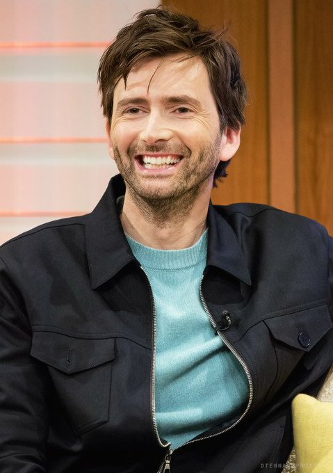 Happy birthday to the wonderfully talented David Tennant! I hope you have a great day!