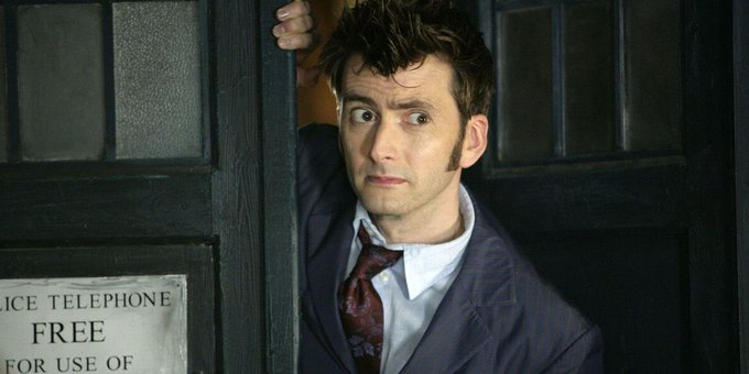 Happy birthday to David Tennant, who played the 10th Doctor!