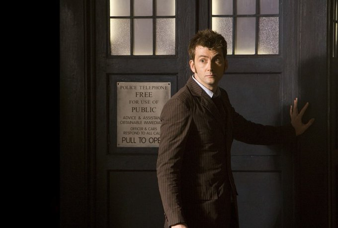 Happy Birthday to the 10th Doctor David Tennant!