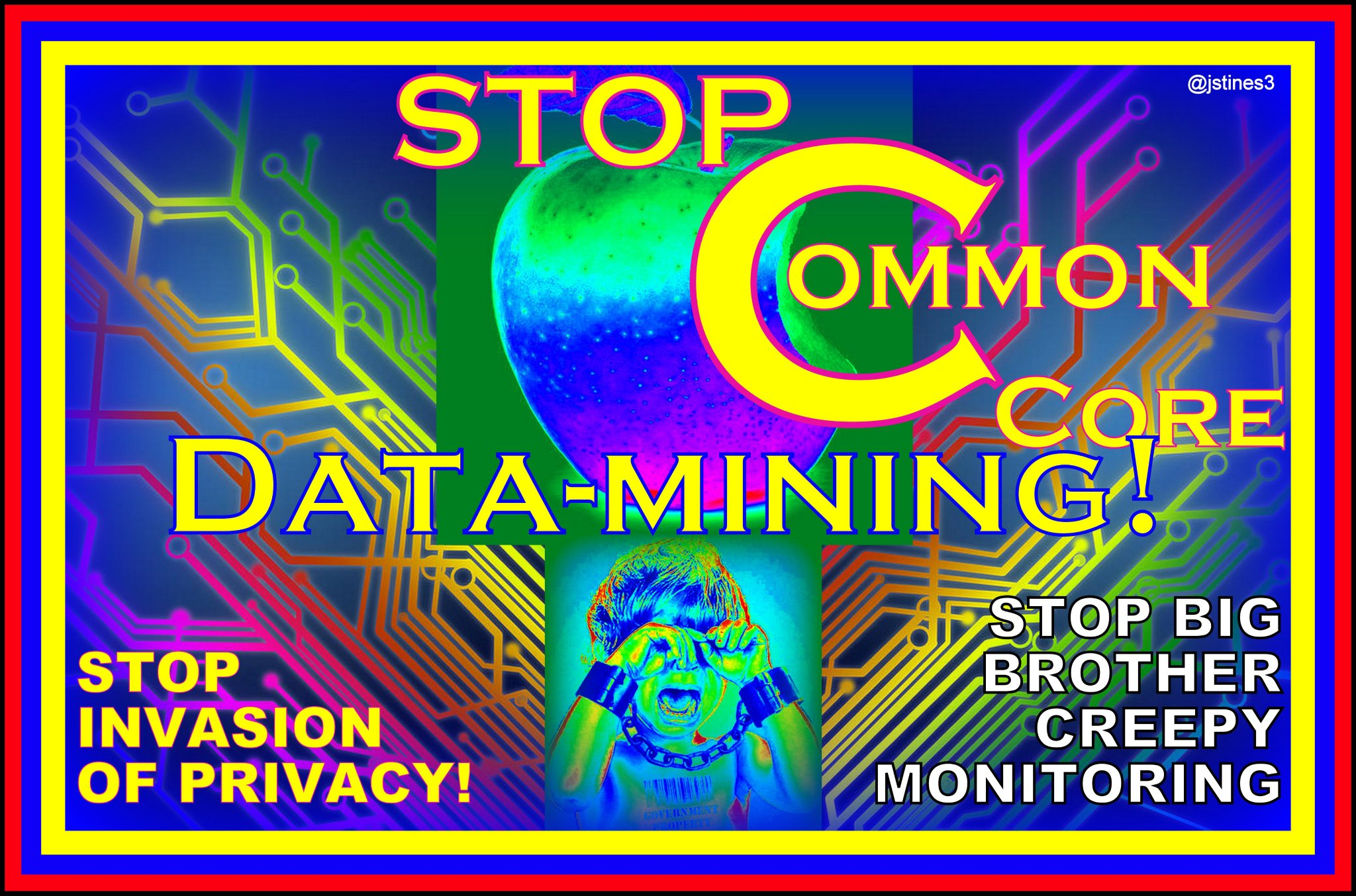 .@POTUS, Common Core data-mining of kids is sci-fi CREEPY!    #KeepYourPromise  #StopCommonCore  #PJNET  #EndFedEd https://t.co/yY4HwLalhQ