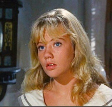Happy 71st Birthday to Hayley Mills. Photo from THE MOON-SPINNERS 1964.