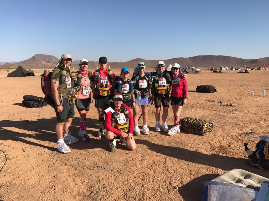 Guns 'n' Hoses team have completed Marathon de Sables. Ex #Chelsea firefighter Jenny Hill finished 73rd out of 1,183 https://t.co/vnURV0R4bw