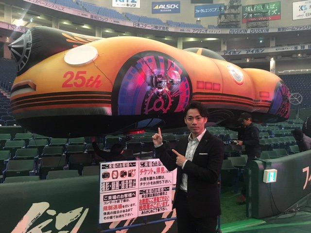 こんにちは。 明日は髙橋大輔キャスターの出演日です。 今回、取材させて頂いたのは、東京ドームで行われたL'Arc~en~Ciel(ラルク アン シエル)の25周年記念ライブです。様々な演出でライブを盛り上げる、その仕掛けです。 お楽しみに! #ラルク