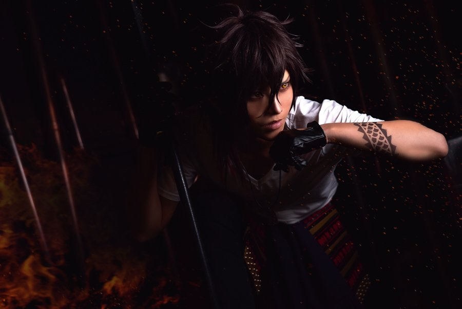 COS*刀剣乱舞 大倶利伽羅撮影:きょこスタジオ:TOKYO UNDER GROUND shinjuku studio(