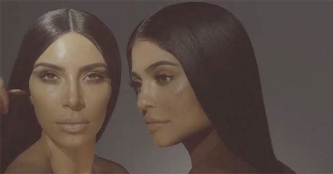 People are really creeped out by this video of Kylie Jenner and Kim Kardashian...