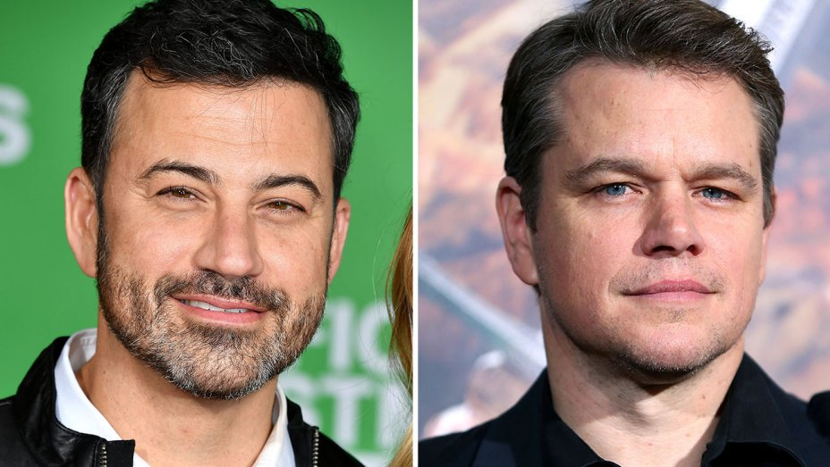Watch: @JimmyKimmel brings his Matt Damon feud to a fake United commercial