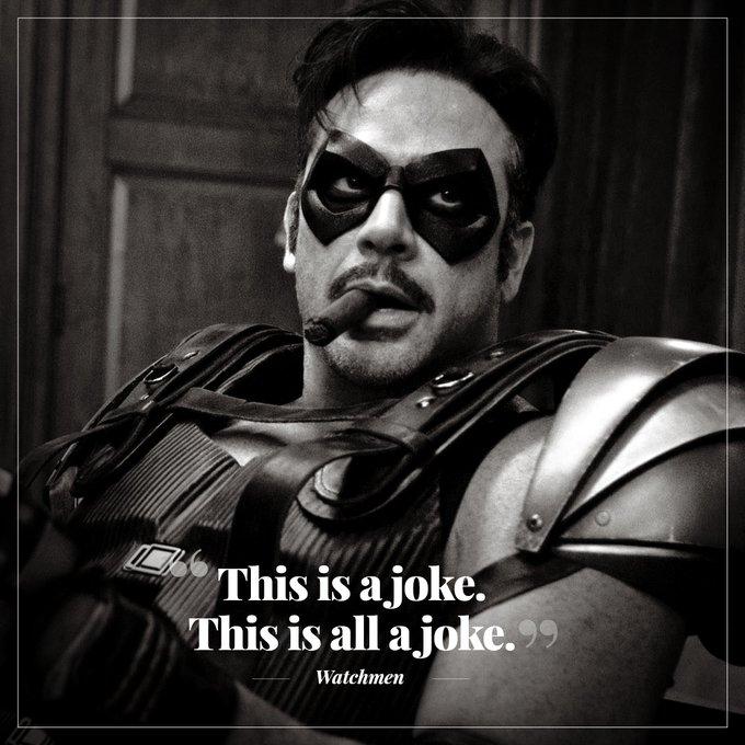 Happy birthday to Watchmen s Comedian, Jeffrey Dean Morgan.