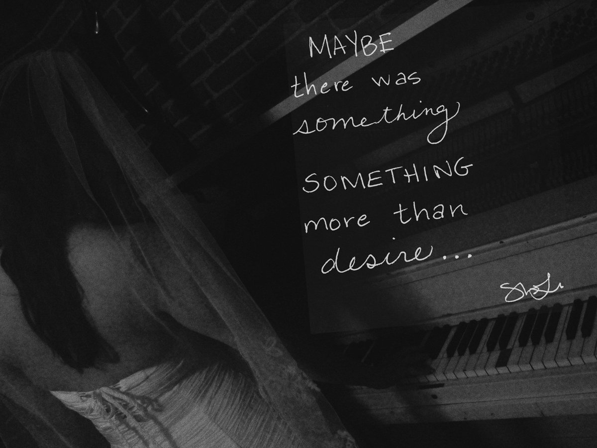 RT @heyshaynaleigh: Maybe there was something... https://t.co/T4e5csaIMh #lyrics https://t.co/HxBxExq1LN