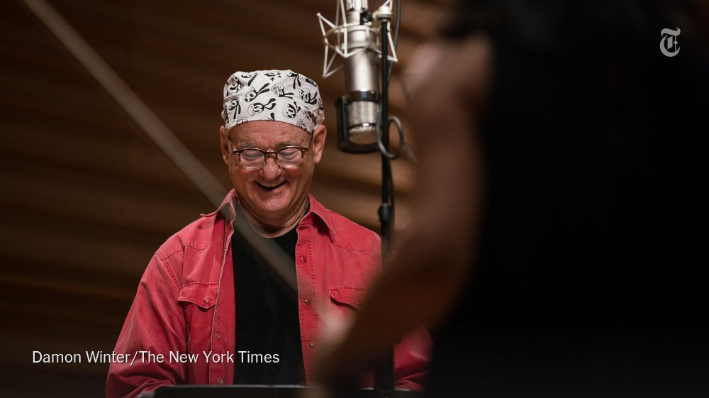 Bill Murray's new project? A program of songs and readings paired with chamber music.