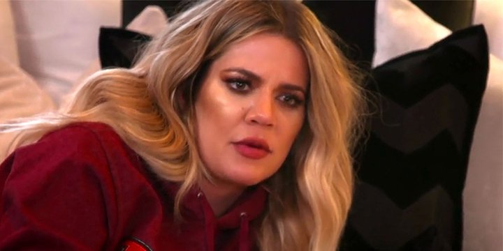 Khloé Kardashian won't thread her eyebrows for fear of contracting herpes via @peoplestyle