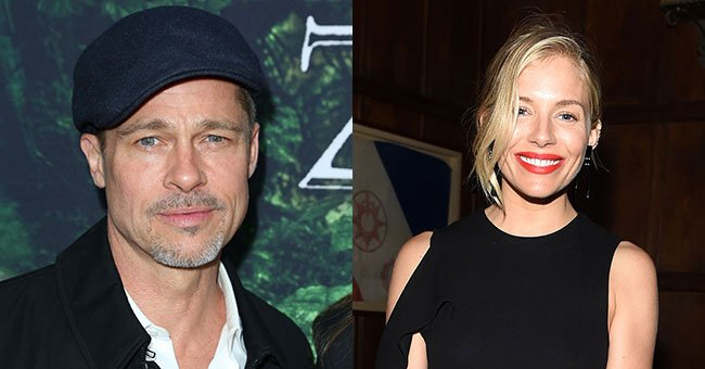 Something totally unexpected is happening between Brad Pitt and Sienna Miller...