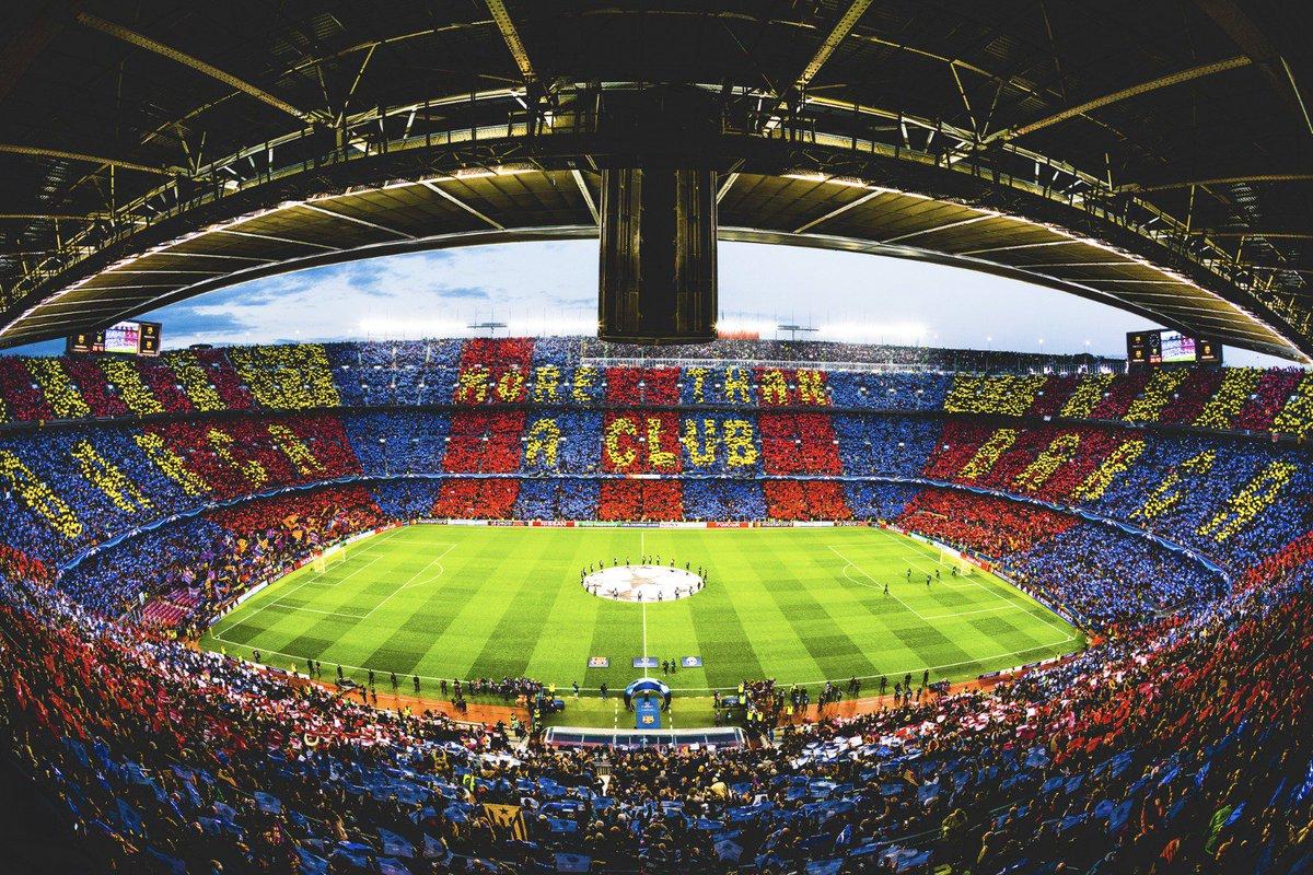 RT @FCBarcelona_cat: ???? Avui som 96.290 espectadors al Camp Nou. ???????? Gràcies afició!! ???????? #ForçaBarça https://t.co/SYIVnDOqp7
