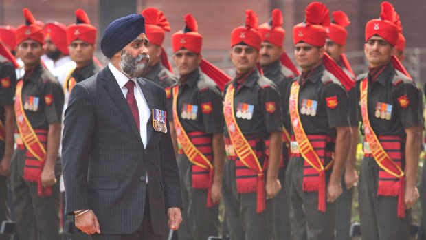 Decades-old Sikh massacre looms over Canadian defence minister's India trip