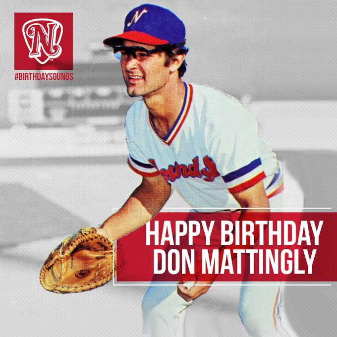 Don Mattingly s birthday falls on How convenient Happy Birthday, Don.