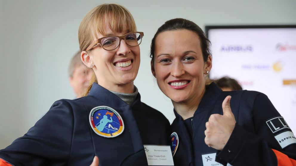 Pilot, meteorologist vying to be 1st German female astronaut