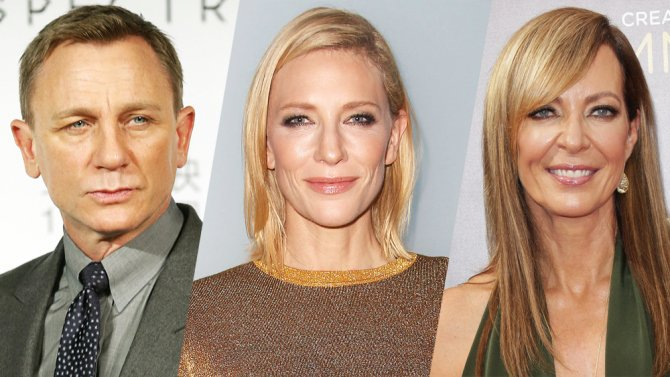 Daniel Craig, Cate Blanchett, and @AllisonBJanney were nominated for Drama League Awards