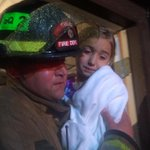 #Firefighters carrying children from tornado-destroyed gymnastics studio in West #Tulsa. All 60 ppl are SAFE. #okwx http://t.co/BW0t4NNX45