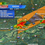 This severe storm could produce large hail over quarter size! #4029storms http://t.co/Z4K8oBPVv5