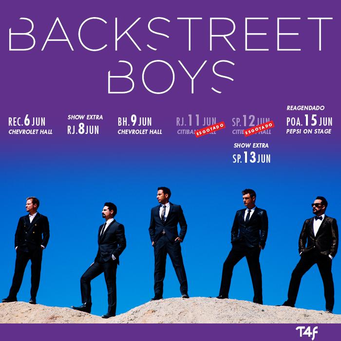 Essa é pra vocês, fãs dos Backstreet Boys de SP eRJ!! Vocês pediram e a gente atendeu, um novo show do #BSB p/ vcs! http://t.co/pj7yLmQfsT