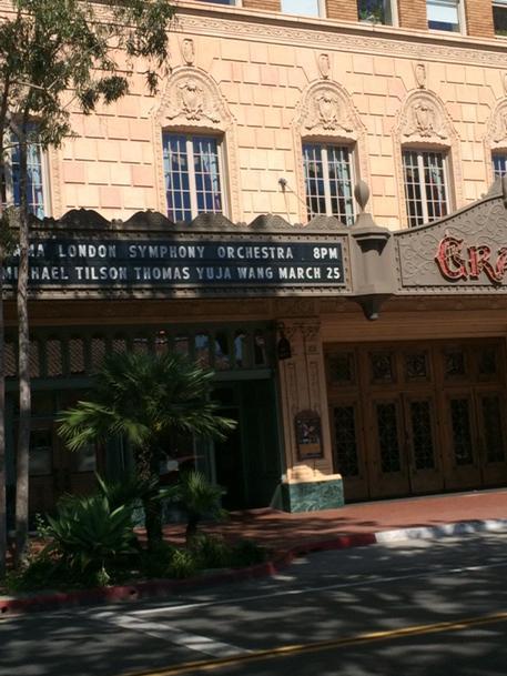 In Santa Barbara @londonsymphony tour. http://t.co/b9S6Qa85bi