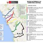 Se autoriza 5ta. ruta alterna para acceder a la Carretera Central. #Chosica #HuaicoChosica http://t.co/pr3RszALlI