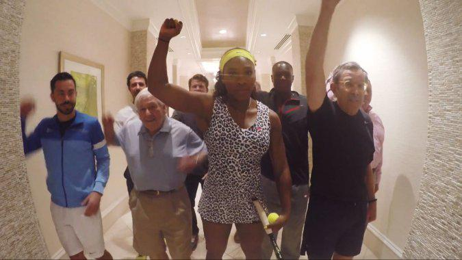 Watch Serena Williams Recreate Beyonce's