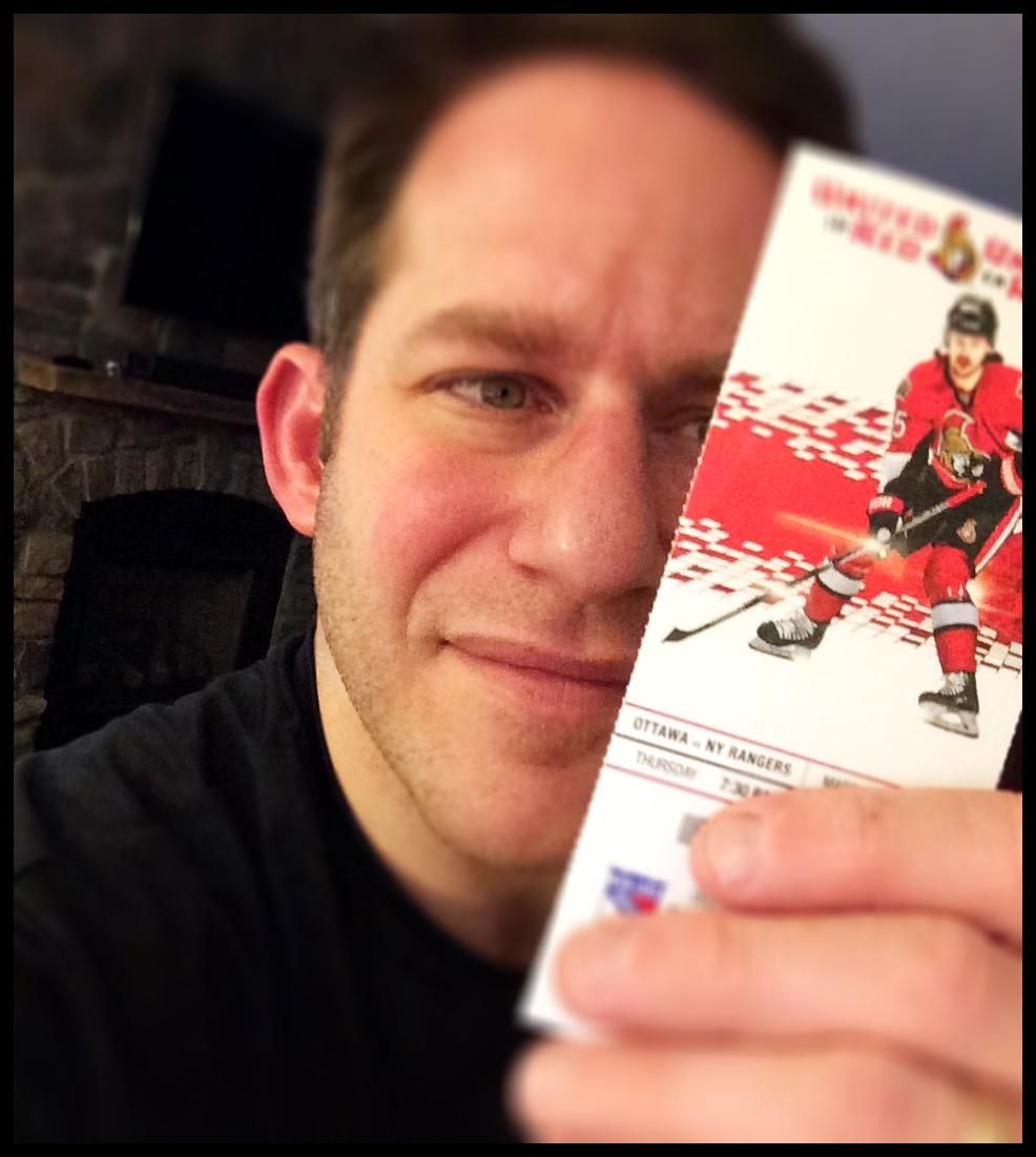 Wanna see #Sens #Rangers tomorrow on me in 100 level? RT this. I'll DM winner at 9am #IwantStusTix http://t.co/1mOgmLVuL7