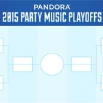 Celebrate #MarchMadness with our College Party Music Playoffs. Tune in to advance your team! http://t.co/orckFAwbFe http://t.co/FcHO6q0BXE