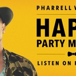 .@Pharrell's exclusive Happy Party mixtape will make your day. Tune in now: http://t.co/QDFBnshqej  #HappyPlanet http://t.co/CR974O2uGH