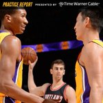 The Lakers will have a new starting lineup when they take the floor in OKC Tuesday.  More: http://t.co/Gs8vRgCRZk