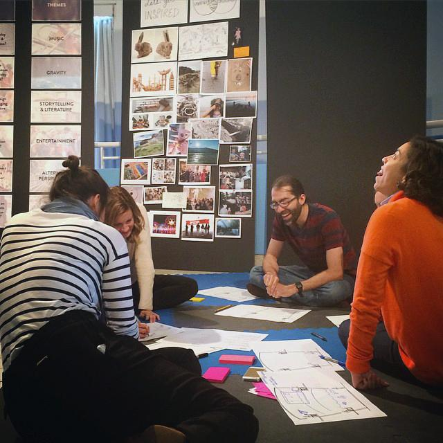 Today we were joined by @IDEO to reimagine our experience. Stay tuned... #MuseumWeek #SecretMW http://t.co/1qfv5bfJou http://t.co/cRdJhBfFv4