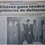 UN TITULAR PARA LA HISTORIA! A veces habría q leer con mayor atención los anuncios periodísticos! #Venezuela #Chavez http://t.co/34fURCkYJ4