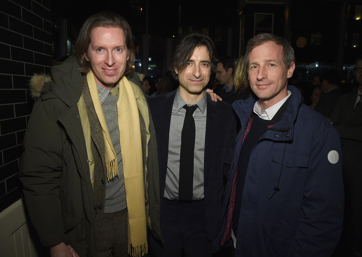 Have Wes Anderson, Noah Baumbach & Spike Jonze been photographed together before? Seems like a summit of some kind. http://t.co/MkqztfvGMl