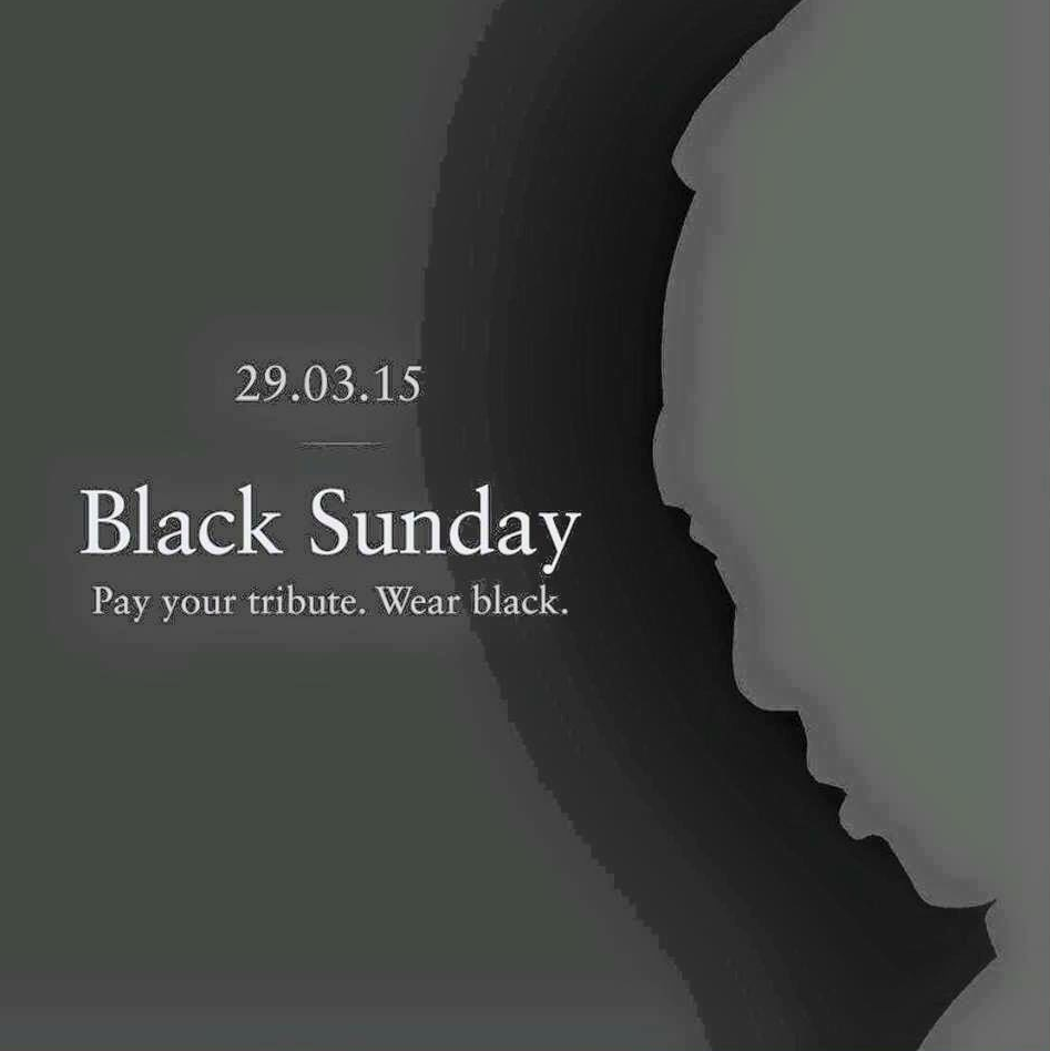 Movement calls for 5 million people to wear black on Sunday, paying tribute to #LeeKuanYew http://t.co/pxPDVeiov4 http://t.co/mdYeJME62J