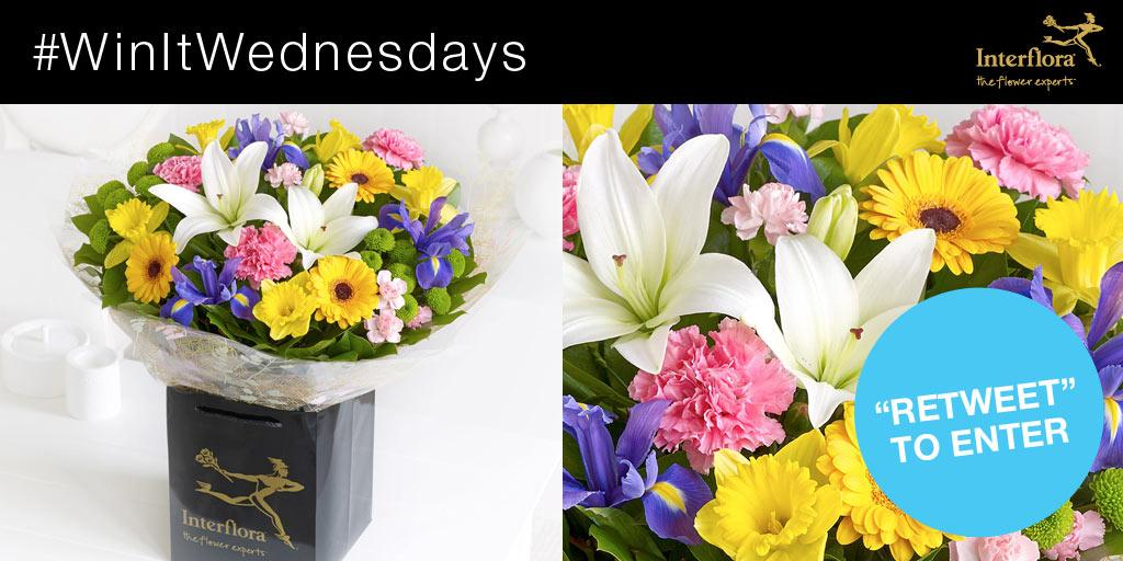 It's #WinItWednesday! RT & follow for a chance to #win our Spring Hand-tied! http://t.co/AabNyoDOwe http://t.co/4GEeER3euK