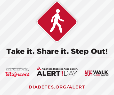 It's #DiabetesAlert Day! 8 million Americans have it & don't know. Are you 1 of them? http://t.co/WgXhqStEBm #type2 http://t.co/ohfbihYkCP