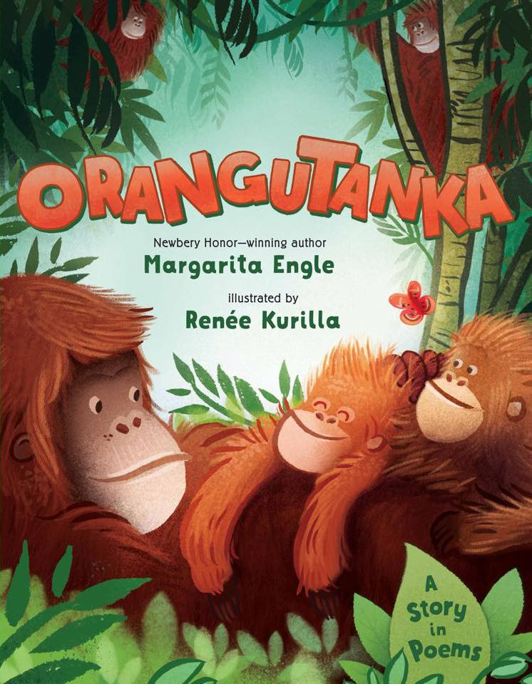Happy book birthday to Orangutanka: A Story in Poems!! Out in the wild TODAY! http://t.co/pM1V06uYfk