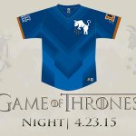 """The Durham Bulls, Triple-A affiliate of the Tampa Bay Rays, to host a """"Game of Thrones"""" night. (via @DurhamBulls)"""