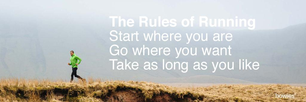 The Rules of Running that anyone can follow. #running http://t.co/XujlMlJNJf