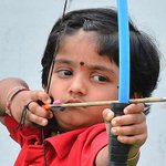 ?@ndtv: 2-year-old Dolly sets national archery record http://t.co/UVVf3IHd2B http://t.co/hN26REd8ld? so so inspiring. Future Olympics winner